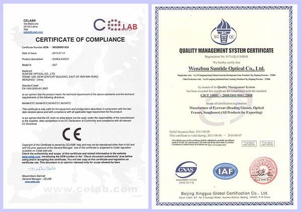 SUNTIDE CE & ISO