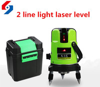 2 Lines Laser Level 360 Degree Self leveling Cross Laser Line Level Indoor Outdoor Laser Waterpas Construction Tools