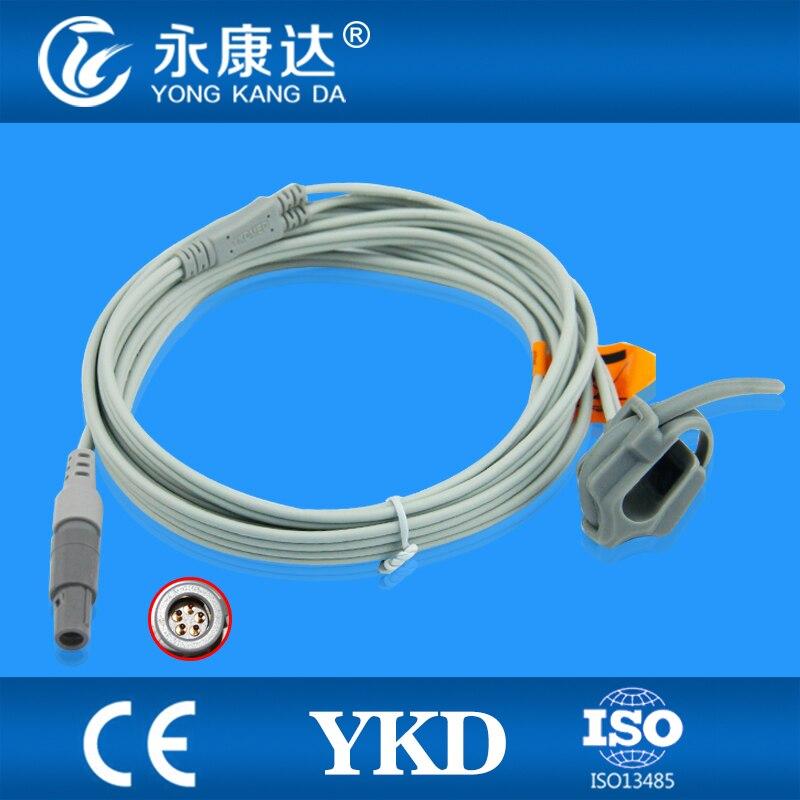 Biolight for M6 M12 and Carewell CPM 9000 Neonate Silicon Wrap Spo2 Sensor