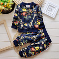 2016 New Spring /Autumn Baby Boy Girls Clothes 2pc Children Clothing Set Coat+Pants, Toddler Tracksuits For Boys Girls