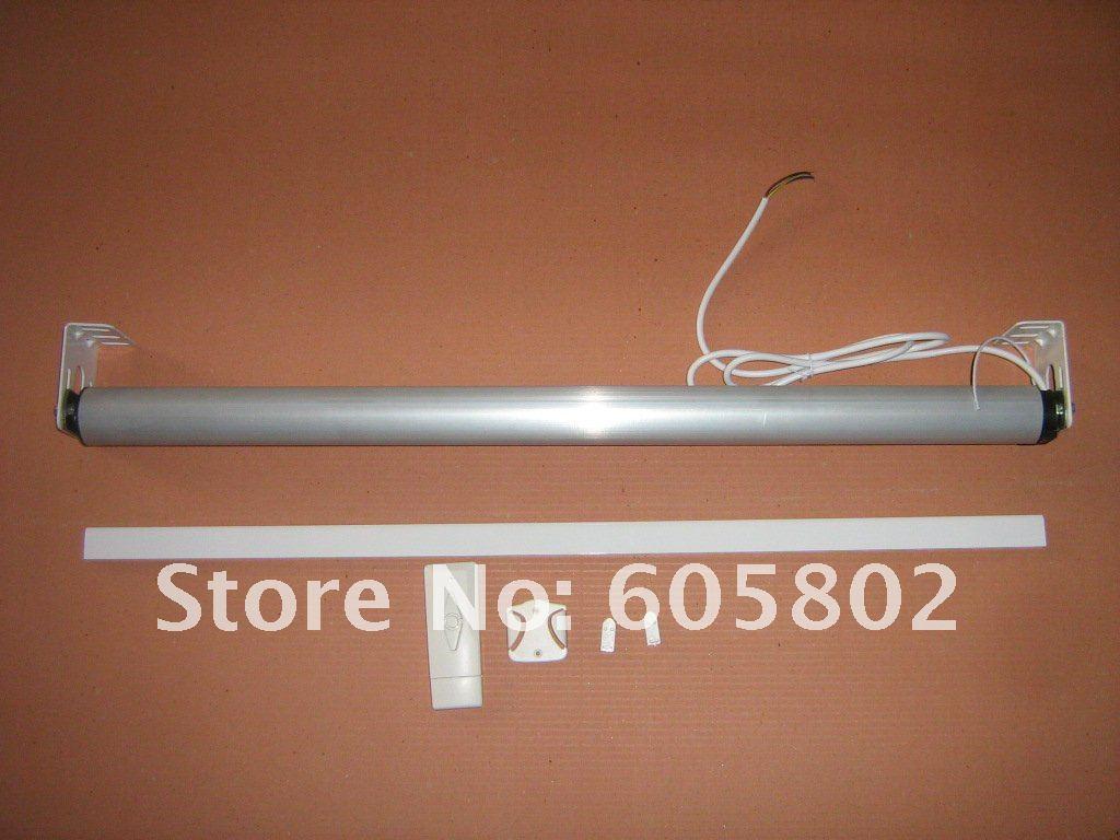 Моторизованные жалюзи, ширина 2,0 м, высота 0,5-1,8 м, Солнцезащитная ткань