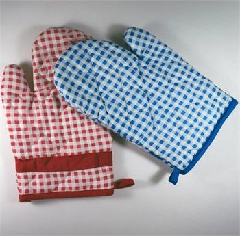 2014 Rushed New Glove Microwave 2pcs Oven Gloves Mitts Hand Padded ...