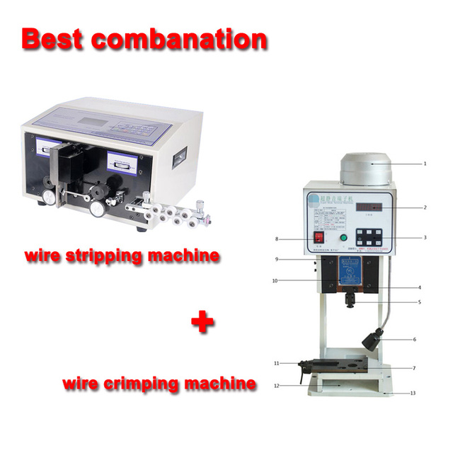 Best conbination Automatic Wire Crimping Machine swt508c +computer ...
