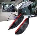 Acessórios do carro para Subaru Forester Outback XV modelos Chuva sobrancelha espelho Retrovisor capa de chuva espelho Lateral