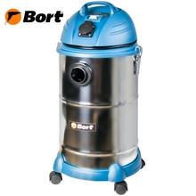 Пылесос для сухой и влажной уборки Bort BSS-1530N-Pro (Мощность 1400 Вт, объем бака 30 л, возможность подключения инструмента, гибкий эластичный шланг растягивается с 2 до 6 м)