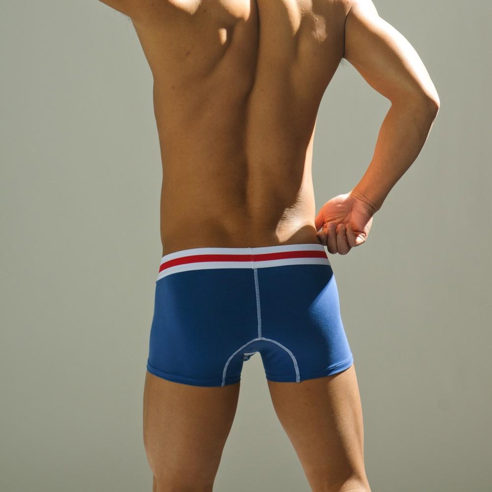2 шт. пакет мужская сексуальное нижнее белье боксер шорты модальные хлопок selfdom парень износ