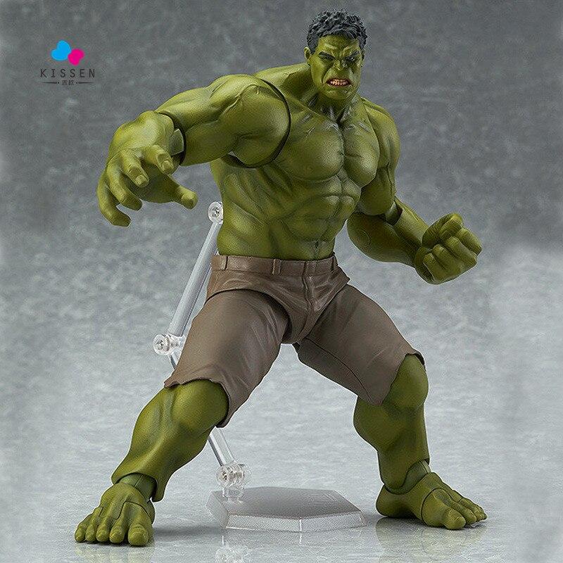 ФОТО Kissen Avengers Hulk Figma 271 PVC Action Figure Collectible Model Toy 19cm