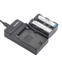 Durapro 2 Pcs Battery NP FM500H NP FM500H Rechargeable Camera Battery USB Digital Charger For Sony