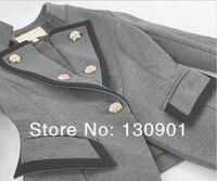 новинка свободного покроя пальто женская верхней одежды с длинным рукавом дамы небольших костюм осень одежда пиджак куртка 2 цветов