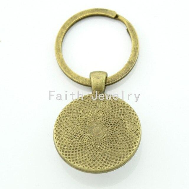 Online Shop Tafree Atheist Atom Symbol Key Chain Fashion Atheist