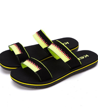 2016 new men's casual slippers summer sandals and slippers non-slip heavy-bottomed Men summer beach