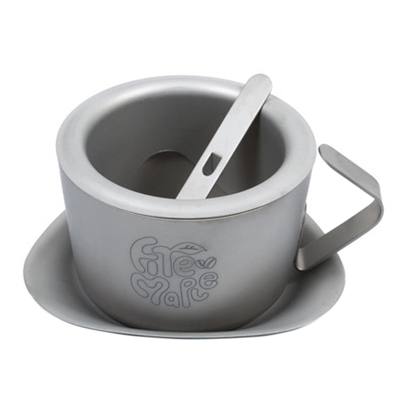 Titanium Coffee Cup Camping Double-wall Tea Mug FMC-1702001