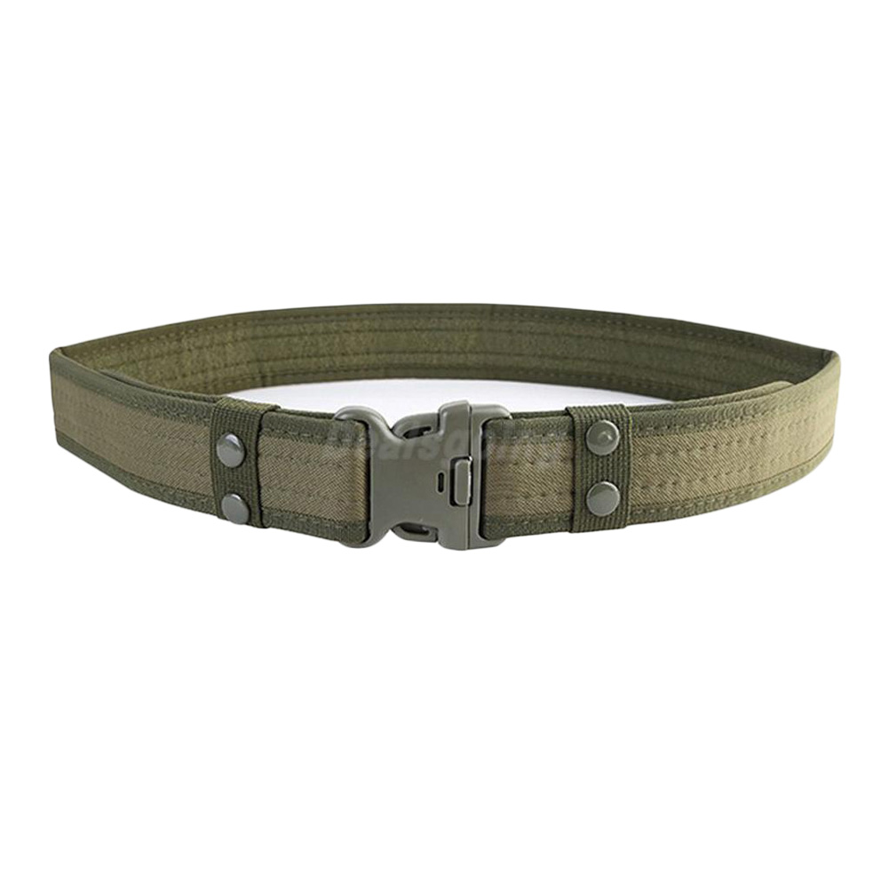 Adjustable Tactical Belts Survival Men Heavy Duty Combat Waistband Army Military Belts