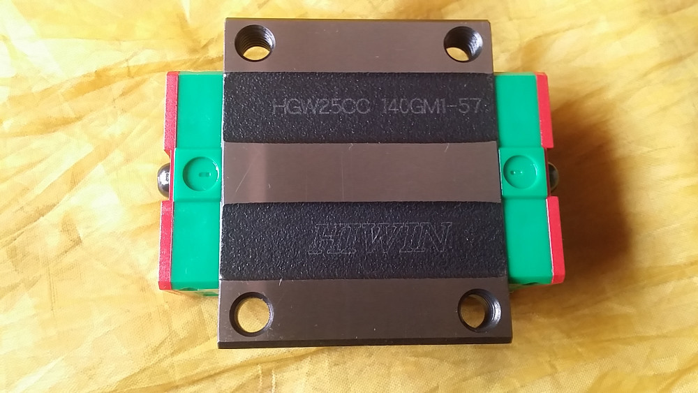 1pcs HGW25 HGW25CC HG25 New original linear guide block Original Linear Guide CNC Parts Stock Good original new hiwin linear guide block carriages hg25 hgw25cch hgw25cc hgr25 for cnc parts