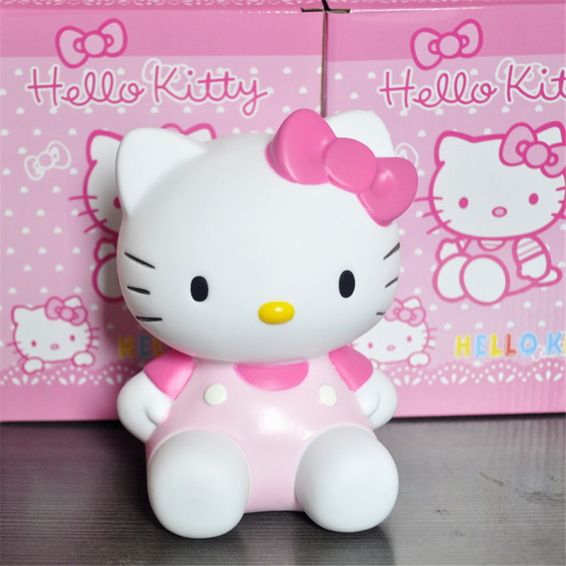 15cm Hello Kitty Action Figure Toys, Hot Cartoon Anime Hello Kitty Figure Model For kids Birthday Gifts Anime Brinquedos free shipping hello kitty toys kitty cat fruit style pvc action figure model toys dolls 12pcs set christmas gifts ktfg010