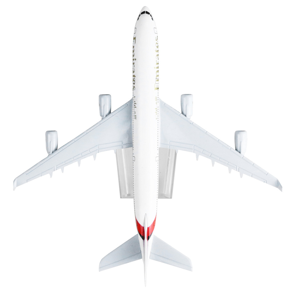 Emirates Airlines Airbus 340 16cm alloy metal model aircraft child Birthday gift plane models chiristmas gift