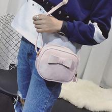 Women Handbag Bowknot Cross Body