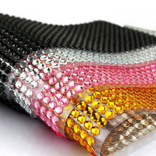4MM Car Styling Decoration DIY Diamond Sticker Personality Fashion Car Stickers Mobile Motorcycle Decals CT-6222