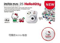 бесплатная доставка фудзи-ксерокс оригинал принтер instax mini25 мужчин фотоаппарат привет китти + 2 СКП. фильмы ЭМС