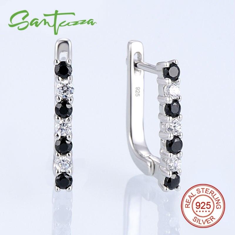 Silver Earrings E301127BSNZSL925-SV1-W
