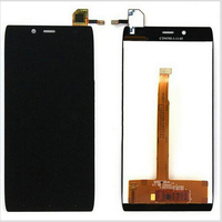 Новый Оригинальный Черный Сенсорного Экрана Digitizer Стекло Датчик + ЖК-Экран Для Alcatel One Touch Idol Альфа OT6032 6032 LCD Замены