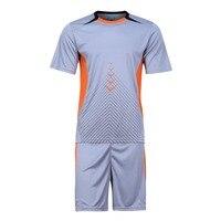 2017 Wingedlion Breathable Quick Dry Men Adult Soccer Jerseys Uniforms Football Kits Short Sleeve Soccer Jersey