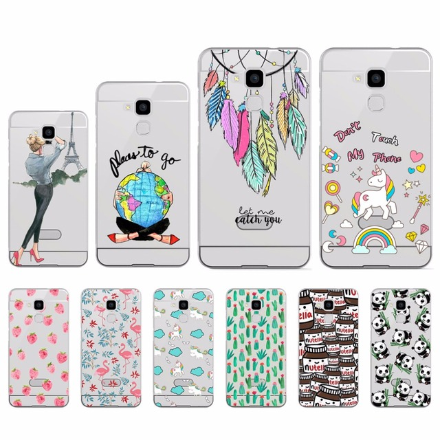 promo code f2073 2914a US $1.51 24% OFF|RIVAS Fashion Phone Cases For Huawei GT3 Soft Silicon TPU  Colorful Desige Cover Case For Huawei GT3 Cover Back Cover 5.2