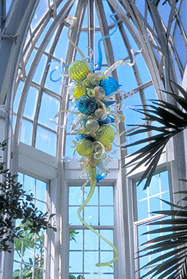 Nouveau décor à la maison coloré fleur lustre ampoule LED joli verre soufflé à la main AC 110/120/220/240 V fabricant