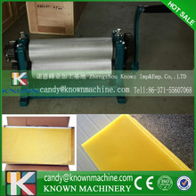 86*310mm High Quality cell size 4.8mm Manual Bee Wax Foundation Sheet Mills Machine