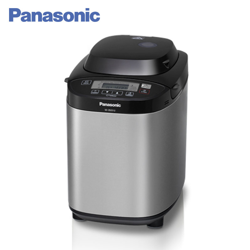 Panasonic SD-ZB2512KTS Breadmaker breakfast bread machine,14 functions, Household automatic intelligent multifunctional bread dl t06a 220v 50hz fully automatic multifunctional bread machine intelligent and face yogurt cake machine 450g 700g capacity 450w