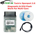 2017 Последним Tactrix Openport 2.0 + ECUFLASH Кабель Для CAN/ISO/K-Line Protocol Tactrix Открыть Порт USB 2.0 Flash ECU Чип Tunning