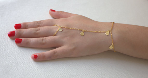 Free Shipping Coins From The Bracelets Gold Bracelets Rings Slaves