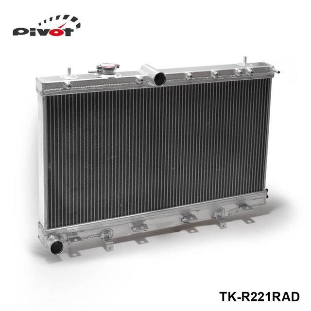 PIVOT-Turbo 2 Linha Radiador de Alumínio de Desempenho Para Subaru Impreza WRX STI GDB GD8 GD 04-07 TK-R221RAD