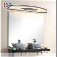 M Led Wall Lights 3W 58CM Stainless Steel Dressing Table Mirror Sconces LED Light Bathroom Lamps Waterproof Antifog Luminaire