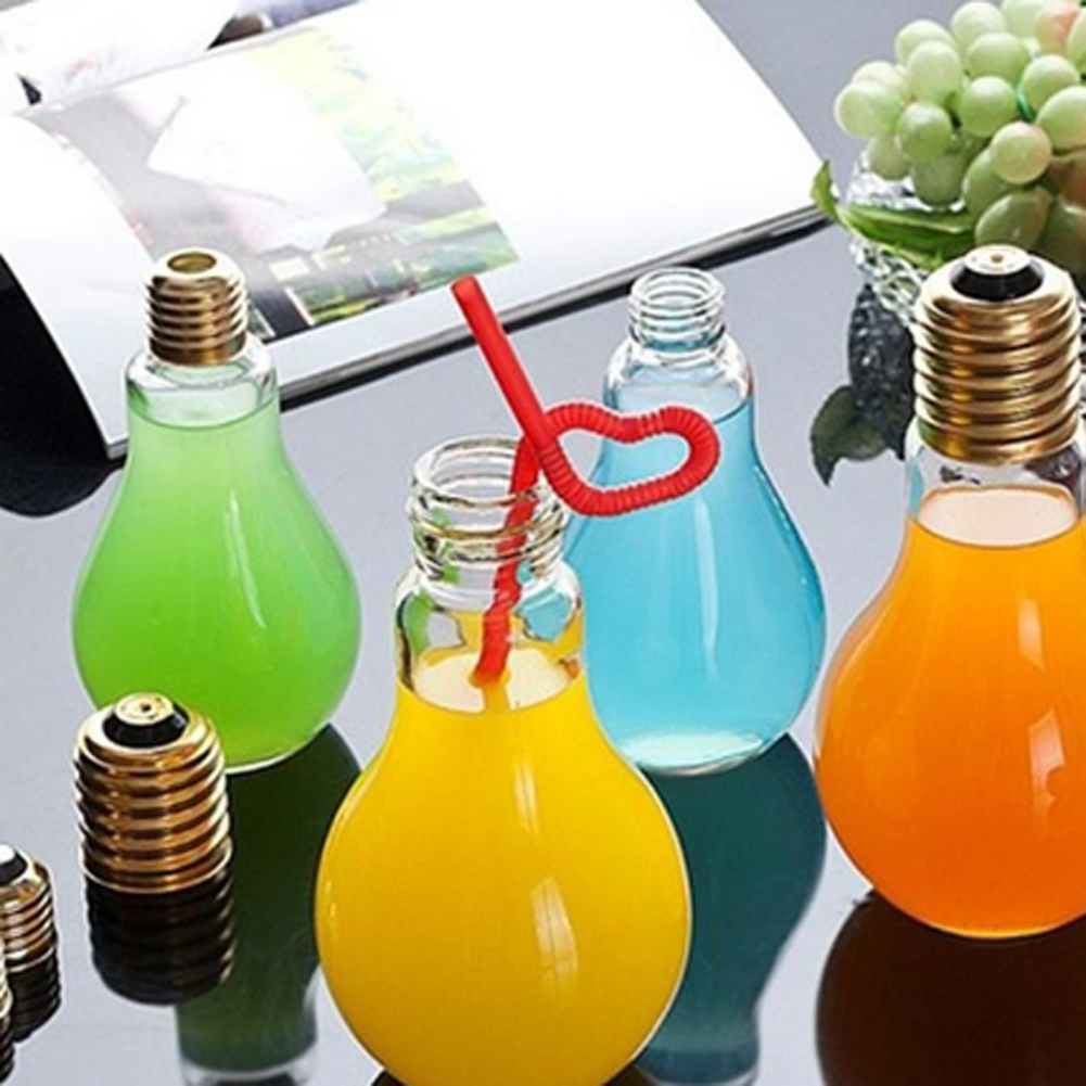 Glass juice cups design - High Quality Hot Sale Bonbon Box Creative Cute Travel Outdoor Light Lamp Bulb Fruit
