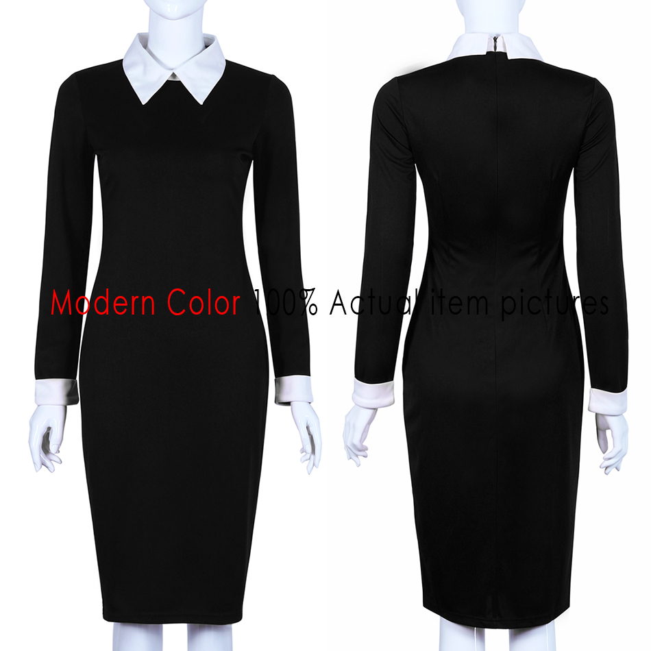 Aliexpress Com Buy Black Office Dresses Women Autumn New