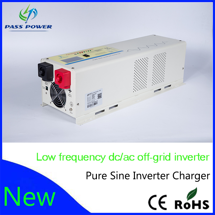 Low frequency hybrid 5000w solar inverter charger