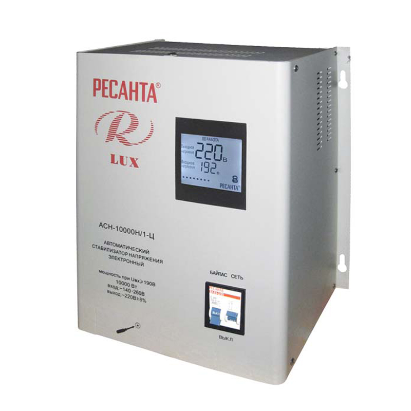 Voltage stabilizer RESANTA ASN-10000 N/1-C