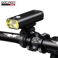 GACIRON Cycling Led Lights Usb Rechargeable Mini Bike Light Front Handlebar IPX3 WaterProof Battery 18650 Bicycle