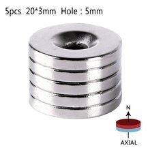Потайной неодимовые редкоземельных магниты сильный отверстия шт./упак. х кольцо мм