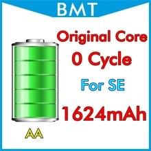 10 шт./лот Аккумулятор для iPhone SE Первоначальное Ядро 0 нулевой цикл 1642 мАч 3.7 В замена BMTISE0BTAA