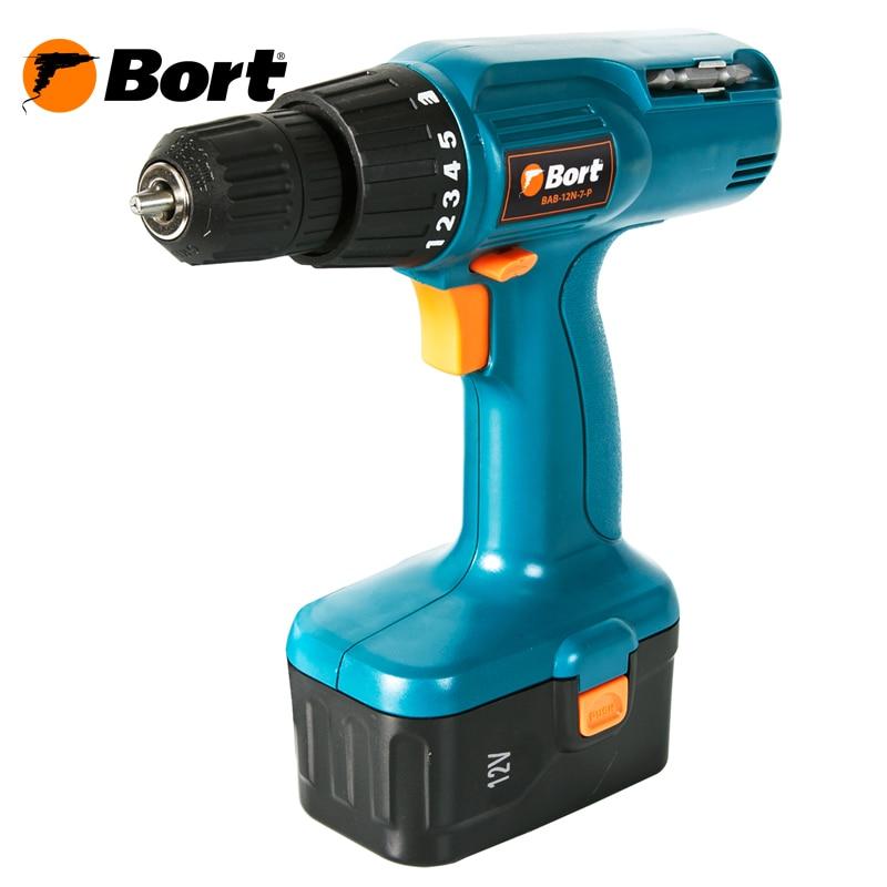 Cordless Drill/Driver Bort BAB-12N-7-P