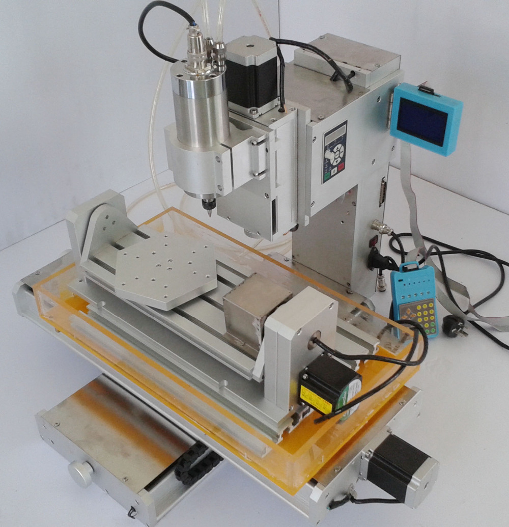 High-Precision table Column Type mini CNC 3040 5 Axis CNC router cutting machine 2.2KW spindle ship from UK no tax high precision table moving 4 axis cnc mini router 3 axis mini cnc router metal engraving machine 3030 4040 6060