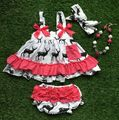 NEW infant toddler girls outfits kids reindeer outfits girls summer ouotfits free fast shipping with mamtching accessories