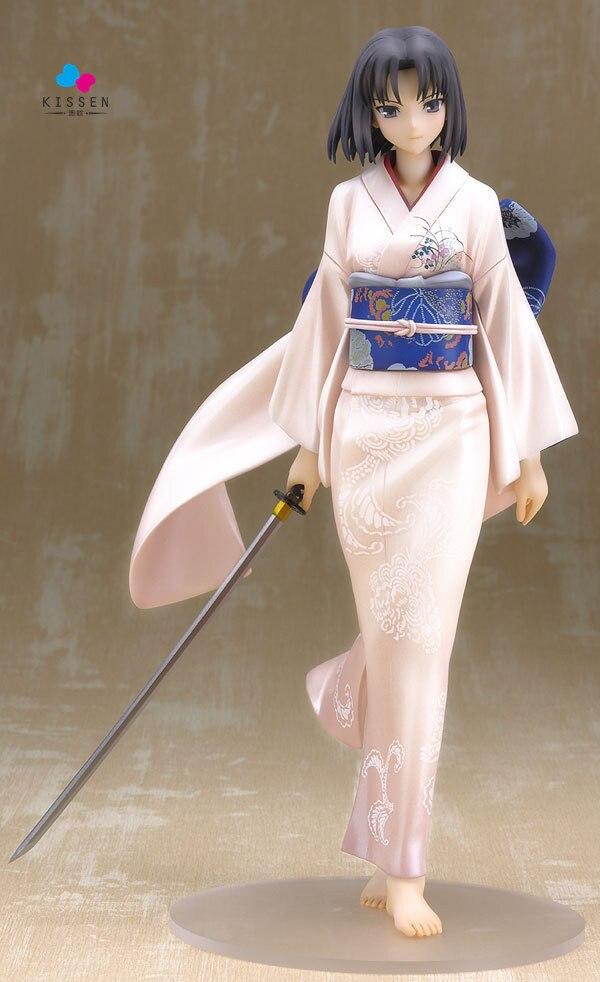 ФОТО Kissen Cartoon Doll Empty Realm Kimono Ver Pretty Girl Pvc Acgn Figure Garage Kit Toy Brinquedos Figure Doll Toys Gift