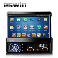 7 Single One Din Android 4 4 4 Quad Core Car Audio HD 1080P Touch Screen