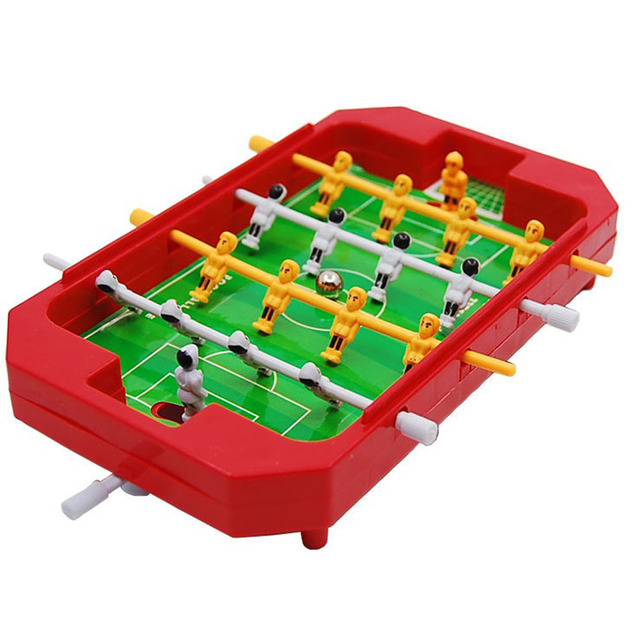 New Fashion Mini Table Top Football Table Football Board Machine Game Home  Match Gift Toy For