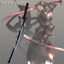 Cosplay Overwatch Genji Ghost Sword Japanese Ninja Anime Game Real Katana Carbon steel Sharp Edge