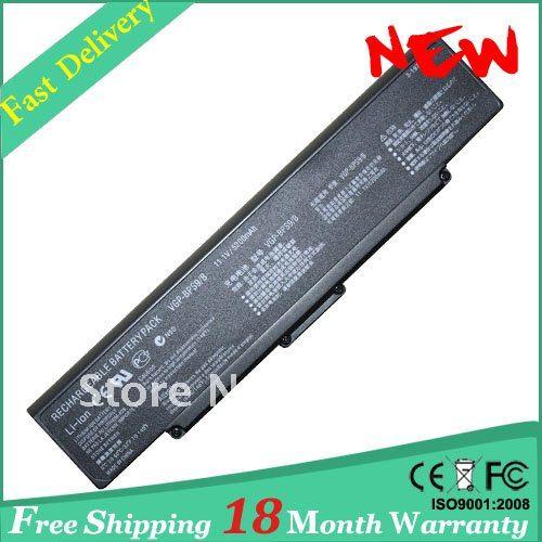 VGP-BPS9/S 5200mAh סוללת המחשב הנייד של Sony VAIO BPS9 B VGP-BPS10 VGP-BPS9 VGP-BPS9A/B VGP-BPS9/B