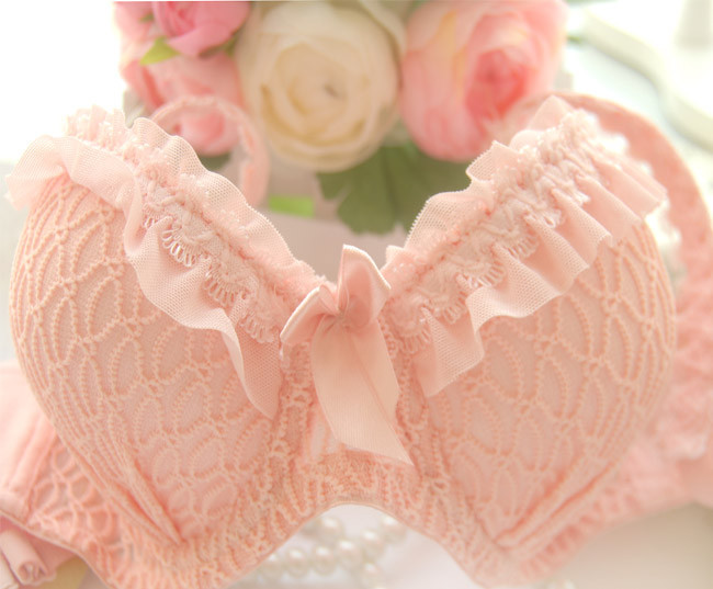 2014 new arrival!!Free shipping Hot sell candy colored lace push up girls underwear suits traditional sexy bra set,bra&brief set12